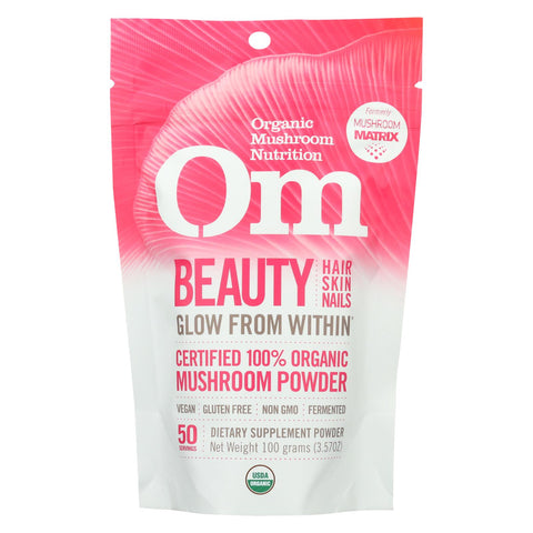 Om - Beauty Organic Powder 100grm - 1 Each - 3.5 Oz