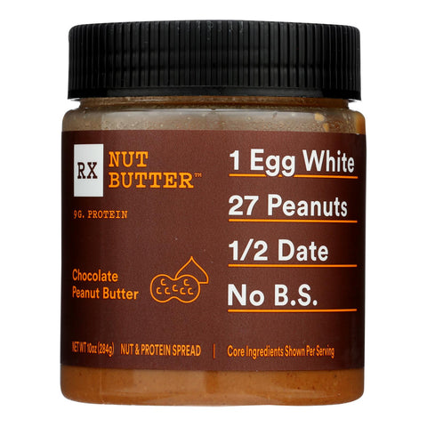 Rxbar - Peanut Butter Chocolate - Case Of 6 - 10 Oz
