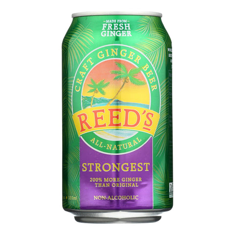 Reed's - Ginger Beer 651 Strongest - Case Of 6 - 4-12 Fz