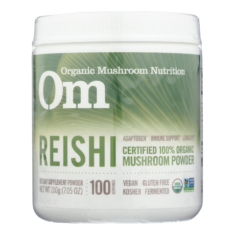 Om - Reishi Organic Powder 200grm - 1 Each - 7.05 Oz