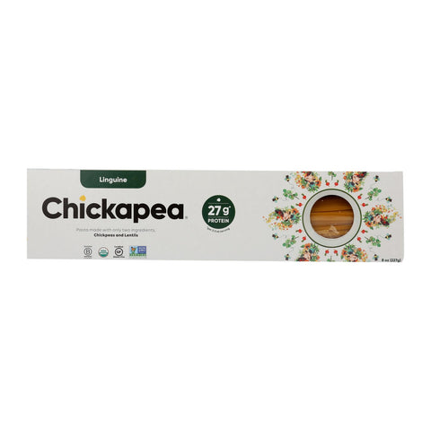 Chickapea Pasta - Pasta Organic Linguine - Case Of 6 - 8 Oz