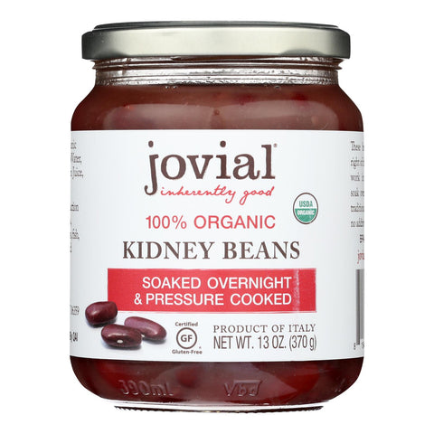 Jovial - Beans Organic Kidney - Case Of 6 - 13 Oz