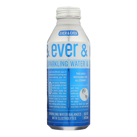 Ever & Ever - Water Sparkling - Case Of 12 - 16 Fz