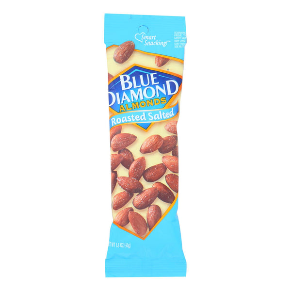 Blue Diamond - Almonds Roasted Salted Ss - Case Of 12 - 1.5 Oz
