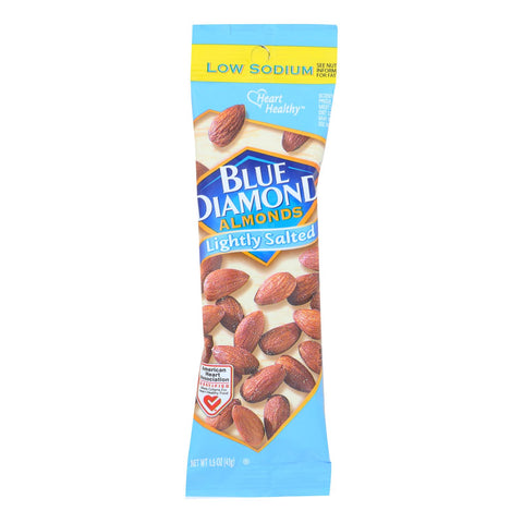 Blue Diamond Lightly Salted Almonds - Case Of 12 - 1.5 Oz