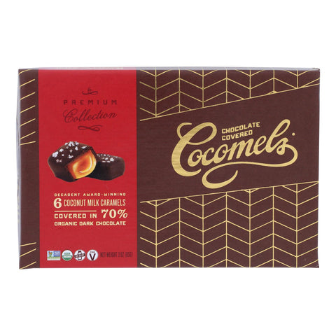 Cocomels - Chocolate Cvrd Dlx Gft Box - Case Of 6 - 3 Oz