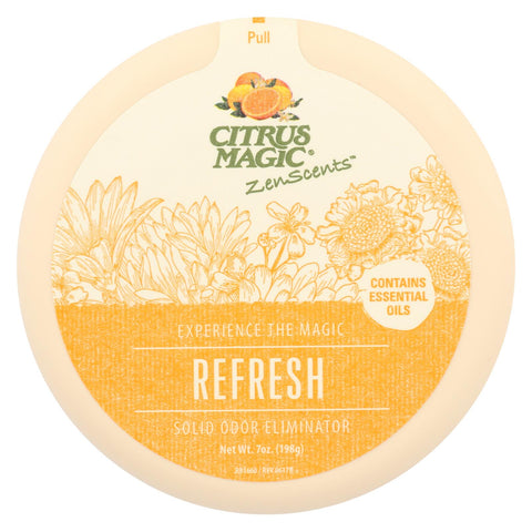 Citrus Magic - Zenscent Odr Absrb Refrsh - Case Of 6 - 7 Oz