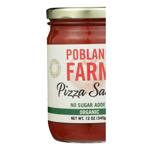 Poblano Farm - Sauce Pizza - Case Of 12 - 12 Oz