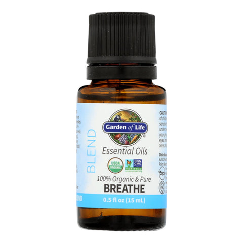 Garden Of Life - Ess Oil Organic Breathe Blend - 1 Each-.5 Fz