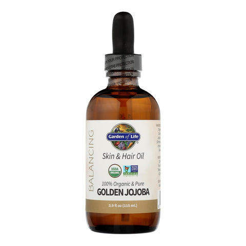Garden Of Life - Jojoba Oil Organic Golden - 1 Each-3.9 Fz
