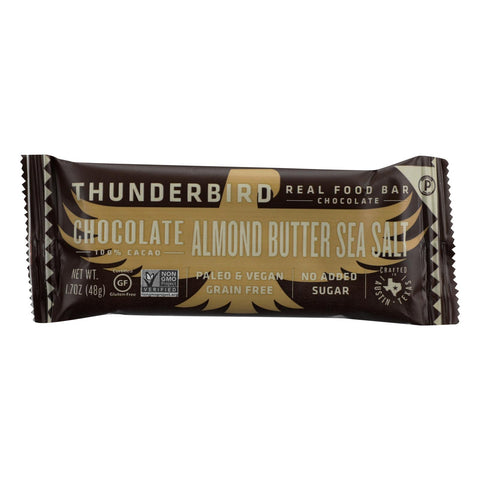 Thunderbird - Bar Chocolate Almond Butter Sea Salt - Case Of 15 - 1.7 Oz