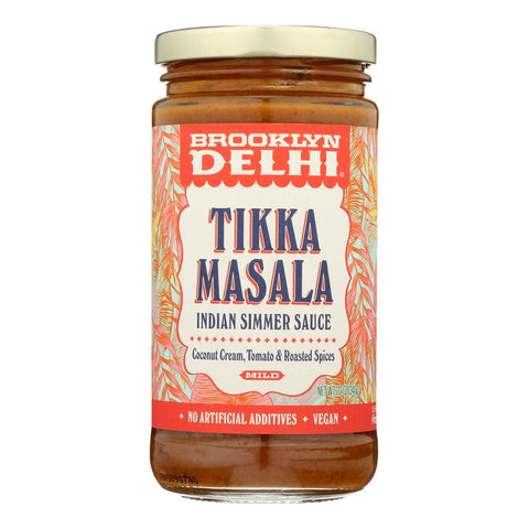 Brooklyn Delhi  - Tikka Masala Simmer Sauce - Case Of 6 - 12 Oz
