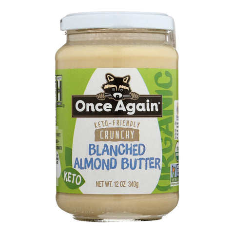 Once Again - Blnc Almdbtr Ogi Crunchy - Case Of 6 - 12 Oz