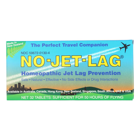 No Jet Lag - Cntr Display Jet Lag Prevntn - Case Of 6-32 Tab