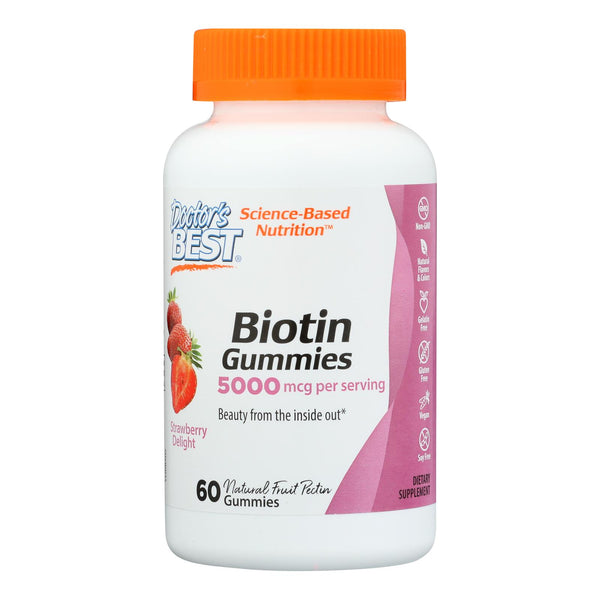 Doctor's Best - Biotin Gummies - 1 Each-60 Ct