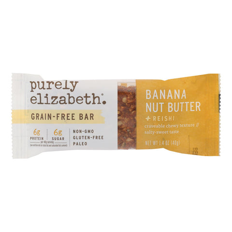 Purely Elizabeth - Bar Ban Ntbtr Nut Seed Wf - Case Of 12-1.4 Oz