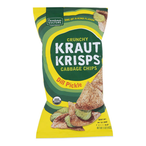Farmhouse Culture - Krt Krsp  Dill Pickle - Case Of 6-5 Oz