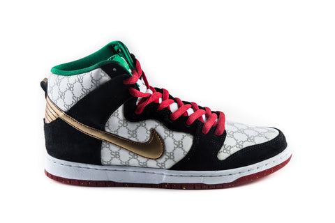 SB Dunk High Premium Black Sheep Paid in Full