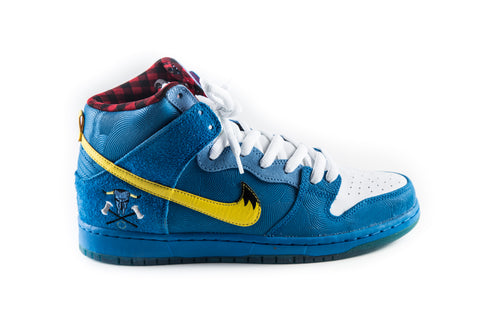 SB Dunk High Premium Familia blue ox