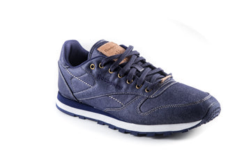 Classic R12 TXT Leather Denim