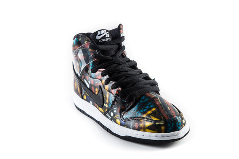 SB Dunk High Premium Stained Glass