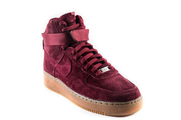 Air Force 1 Hi HI Suede Red Suede