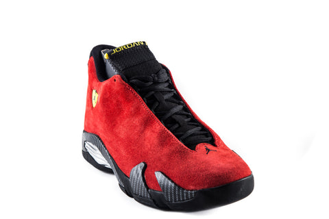 Air Jordan 14 14 One Piece Ferrari