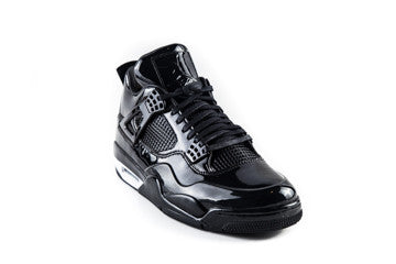 Air Jordan 4 11Lab4 Black Patent Leather