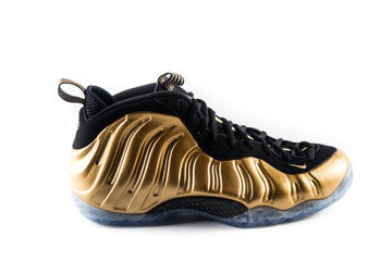 Air Foamposite One Gold Metallic