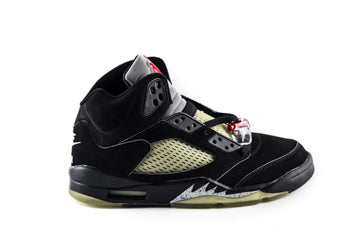 Air Jordan 5 Retro Black Metallic