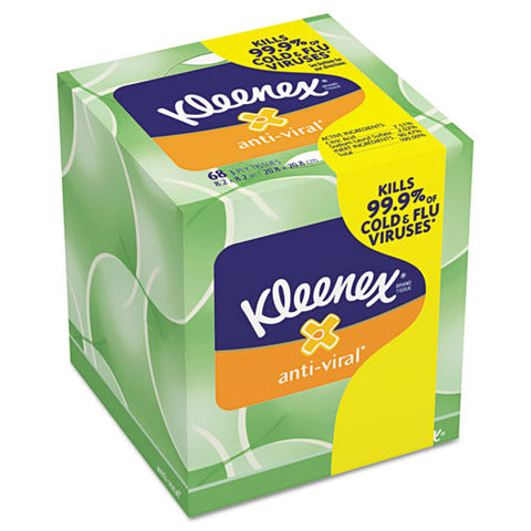 Anti-Viral Facial Tissue (27/Case)-Kimberly Clark-T-Ray Specialties