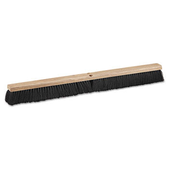 "Floor Brush Head, 36"" Wide, Polypropylene Bristles (6/Case)-Boardwalk-T-Ray Specialties"
