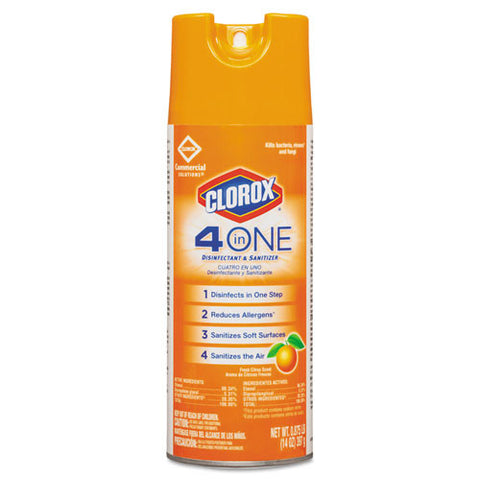 4-in-One Disinfectant & Sanitizer-Clorox Sales Co.-T-Ray Specialties