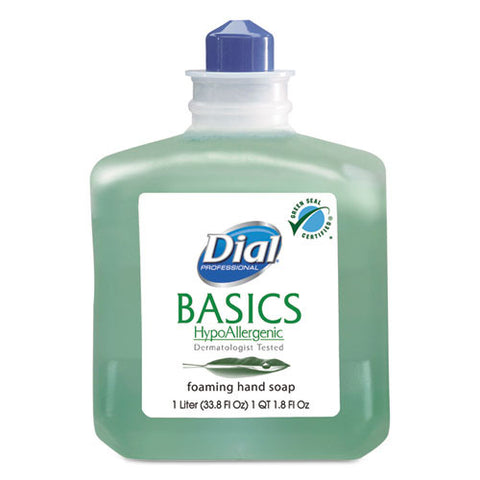 Basics Foaming Hand Wash (6/Case)-Dial Professional-T-Ray Specialties