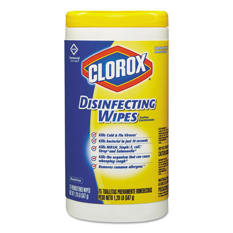 Disinfecting Wipes (6/Case)-Clorox Sales Co.-T-Ray Specialties