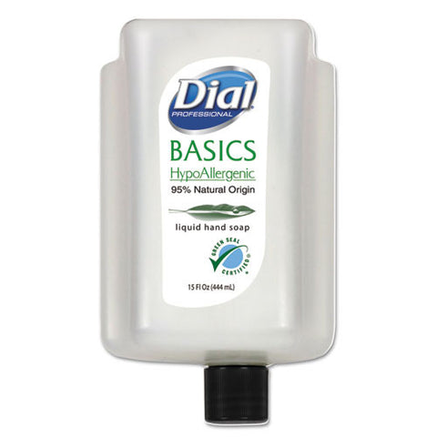 Basics Liquid Hand Soap (6/Case)-Dial Professional-T-Ray Specialties