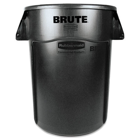 Brute Vented Trash Receptacle (4/Case)-Rubbermaid Commercial Products-T-Ray Specialties