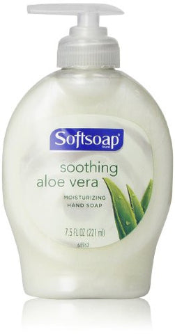 Softsoap Hand Soap with Aloe 7.5oz. (12/Case)-Colgate Palmolive, Ipd.-T-Ray Specialties