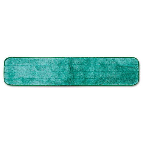 "Dry Hall Dusting Pad, Microfiber, 24"" Long, Green (12/Case)-Rubbermaid Commercial Products-T-Ray Specialties"
