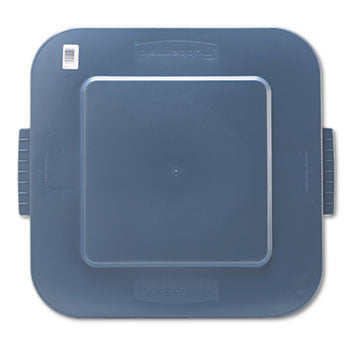 Square Brute Lid (4/Case)-Rubbermaid Commercial Products-T-Ray Specialties