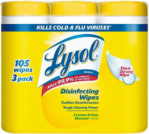 Disinfecting Wipes-Reckitt Benckiser-T-Ray Specialties