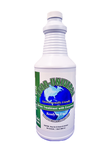 Odor Universe Drain Treatment with Enzyme-Odor Universe-T-Ray Specialties