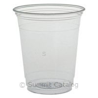 9oz. Ultra Clear Squat Cup (1000/Case)-Dart Container-T-Ray Specialties