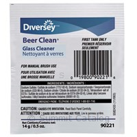 Beer Clean Glass Cleaner (100/Case)-Diversey-T-Ray Specialties