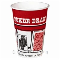 8.25oz Poker Vending Hot Cup (2000/Case)-Sweetheart Cup Company-T-Ray Specialties