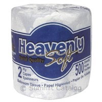 Heavenly Soft 2-Ply Toilet Tissue (96/Case)-Sofidel America-T-Ray Specialties