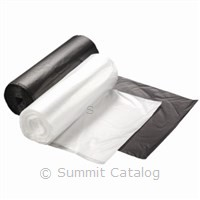 38X60 Black 60 Gallon Trash Bags (150/Case)-Berry Global Inc.-T-Ray Specialties