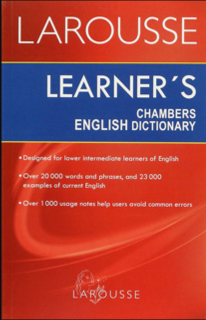 Diccionario Inglés Learner's Chambers English Dictionary  N.E.