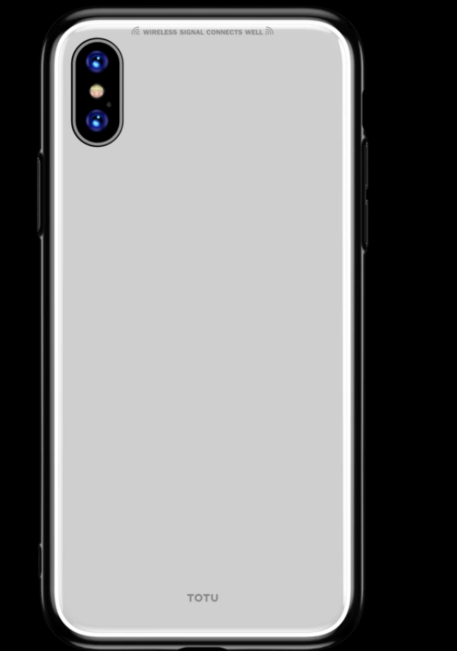 Estuche Totu Style series para iPhone Xr Blanco Totu