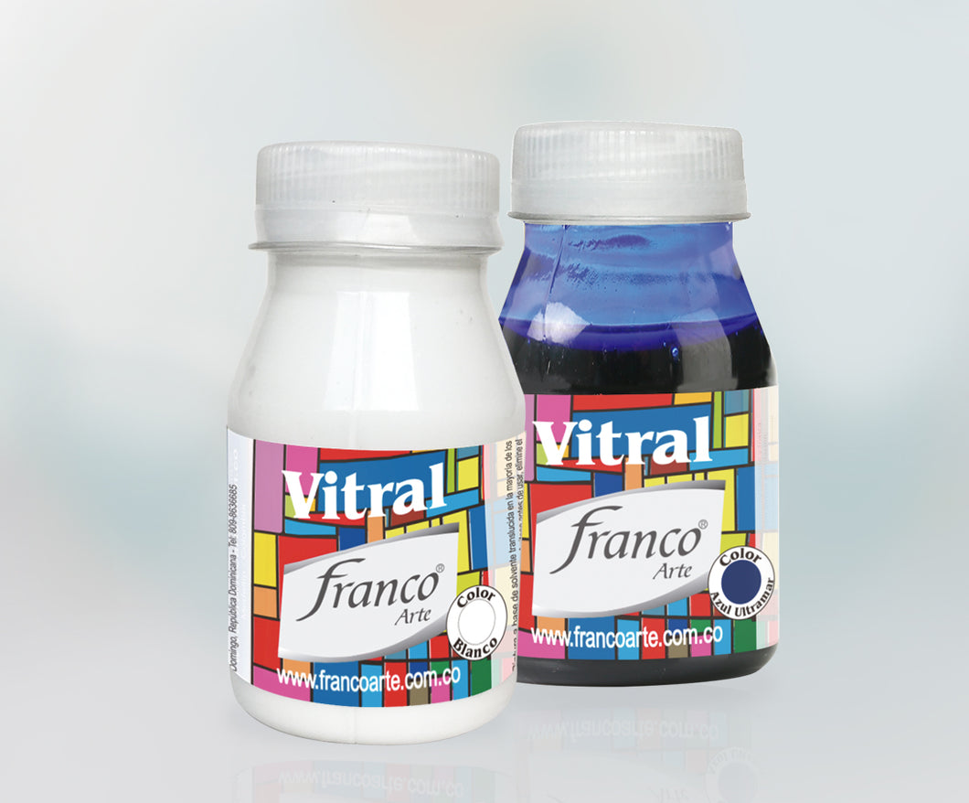 Vitral Franco Rojo